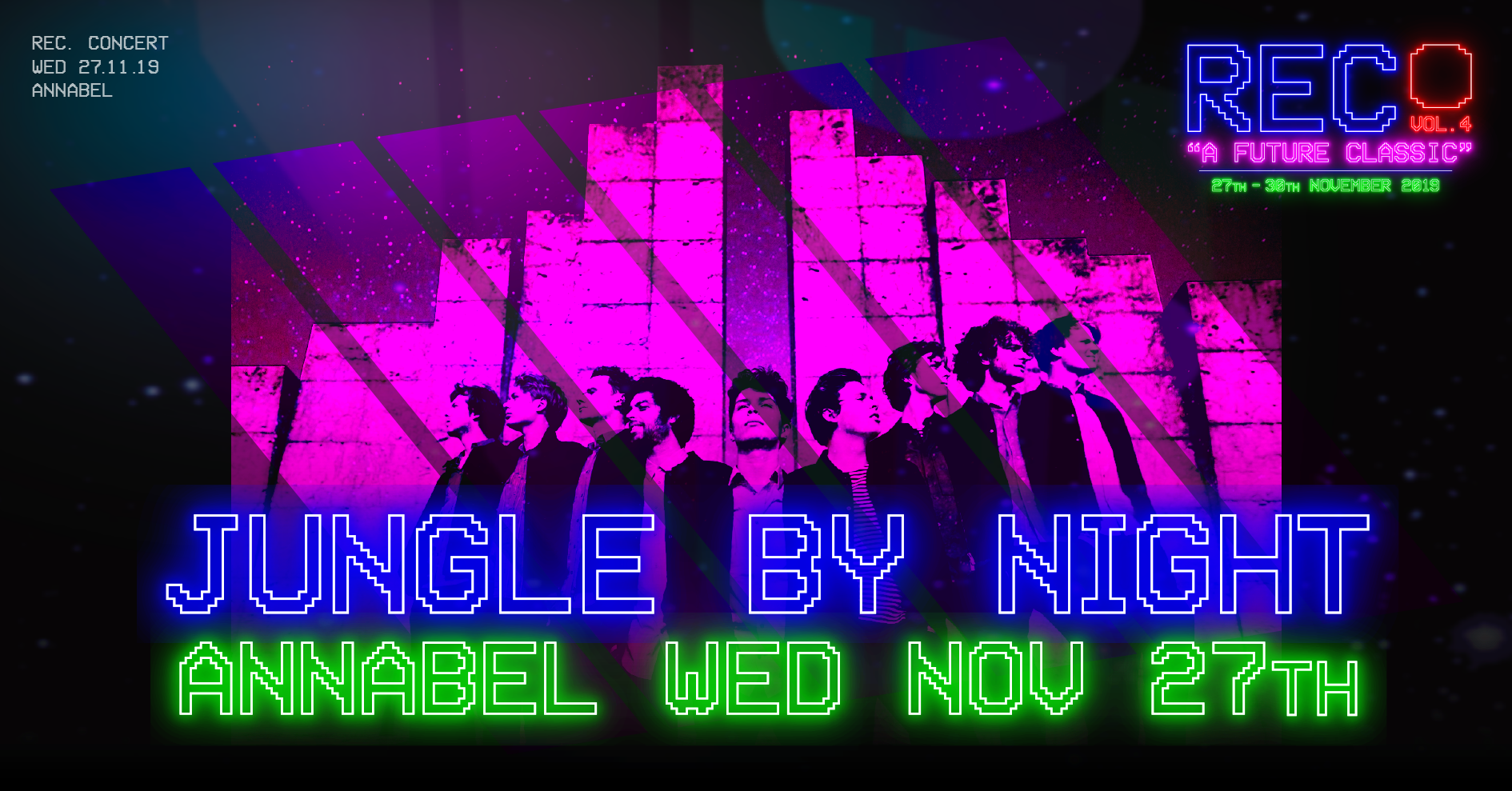 Jungle by night REC Festival 2019